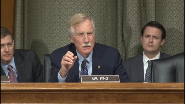 Maine Senator Angus King asks Secretary of Defense Ashton Carter about how not to provoke moderate Muslims from falling into the ISIS trap...