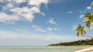 Maintained beach