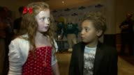 Maisie Smith Devon Higgs on Eastenders work schedules at the The Smurfs In 3D UK Gala Premiere at London England