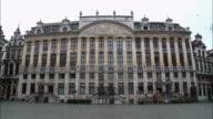 WS, TU, Maison des Ducs De Brabant, Grand Place, Brussels, Belgium