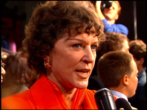 Majel Barrett Roddenberry at the 'Star Trek First Contact' Premiere at Grauman's Chinese Theatre in Hollywood California on November 18 1996