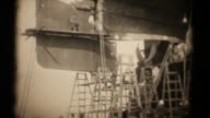 RMS majestätischen in Dry Docks 16 mm 1927 (HD1080