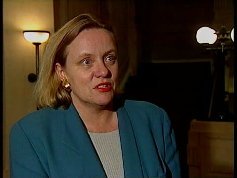 Major attacks Labour Party's plans for the railways ITN London Mo Mowlam MP intvwd SOT Major went to the public with a clear manifesto at the last...
