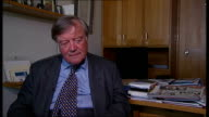 Kenneth Clarke interview Clarke interview SOT Britain has very good human rights record / can't believe that David is going to start advocating...