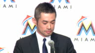 S Major League baseball team Florida Marlins on Thursday January 29 hosted a special press conference here for outfielder Ichiro Suzuki who the team...