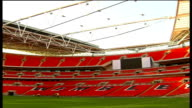 Major NFL game to be played in London DATE UNKNOWN Wembley Stadium General view inside Wembley Stadium PAN