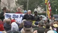 Majority Leader Mike Pence Iowa Republican Steve King and Representative Jim Jordan address Tea Party Rally 'Continuing Revolution Rally' Tea Party...