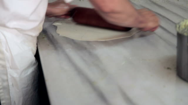 Make sweet pastry dough