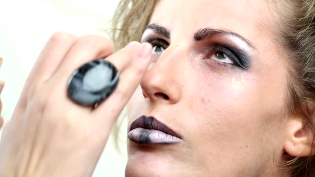 Makeup for photo shot