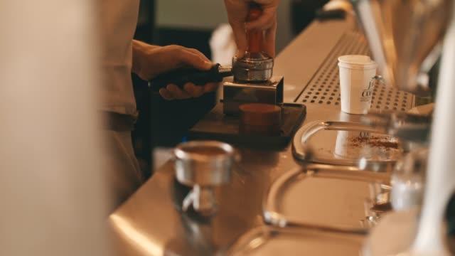 Maken van een perfecte koffie
