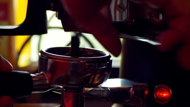Making Coffee , coffee machine