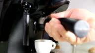 Making Coffee Latte