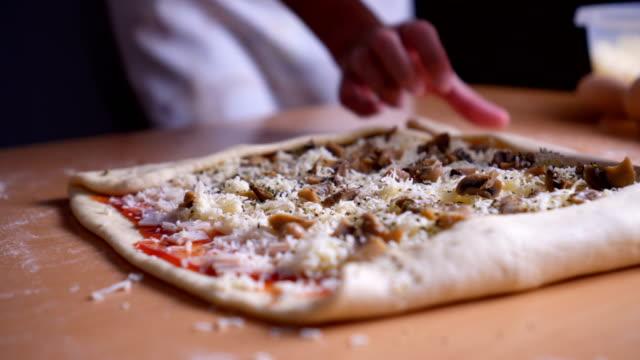Pizzabacken Rollen