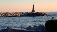 making sport at a lighthouse - deporte en un faro