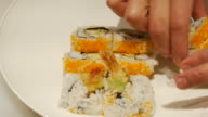 Making Sushi Food
