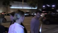 Maksim Chmerkovskiy and Peta Murgatroyd outside Craig's Restaurant in West Hollywood at Celebrity Sightings in Los Angeles on September 16 2017 in...
