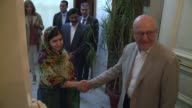 Malala Yousafzai met with Lebanese Prime Minister Tamman Salam in Beirut on Sunday a few hours after she spent her 18th birthday on the Syrian border...