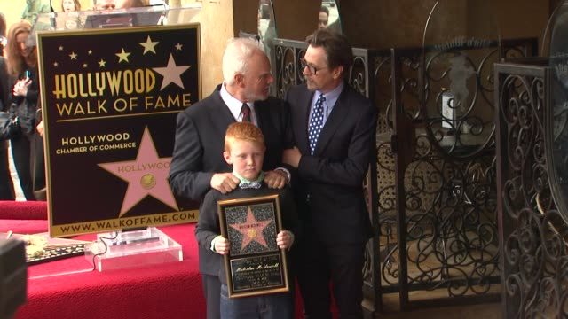 Malcolm McDowell and Gary Oldman at Malcolm McDowell Honored with Star on the Hollywood Walk of Fame in Hollywood CA on 3/16/2012