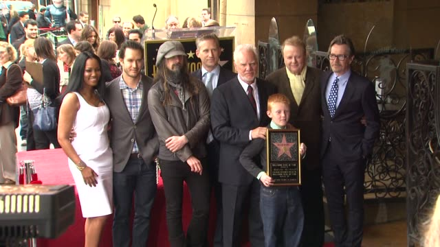 Malcolm McDowell Honored with Star on the Hollywood Walk of Fame Hollywood CA United States 3/16/12