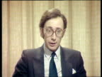 Malcolm Rifkind interview on relations between Britain and Russia ENGLAND London Westminster INT Malcolm Rifkind interview SOT Well I think we'll be...