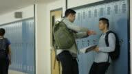 Männliche erste solche Beschäftigten gemobbt in der Schule