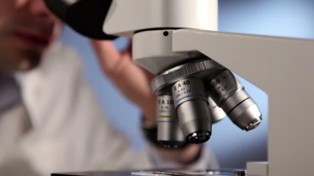 Male Scientist Researcher in the laboratory
