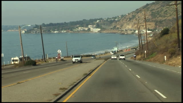 (HD1080) Malibu Driving PCH Pacific Coast Highway US1 (California, USA)