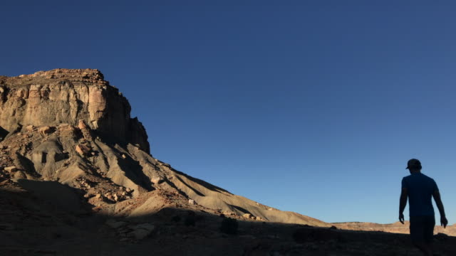 man adventure hiking landscape