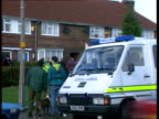 Man arrested after children murdered ENGLAND Manchester Wythenshawe Royal Oak Rd GV House where bodies of Joseph and Lesley Kenny were found with...