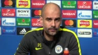 Man City Guardiola Guardiola says About Vincent Kompany Monaco being 'killers in the box' being undecided re his goalkeepers Sergio Aguero Willy...