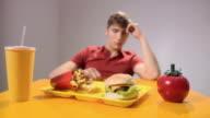 Man disgusted at burger