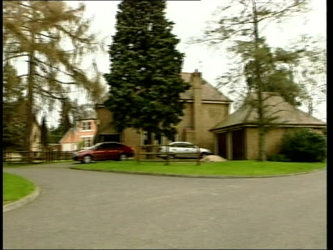 Man drowns at Michael Barrymore's house ITN Essex Roydon Home of television presenter Michael Barrymore PAN MS Police car parked in drive