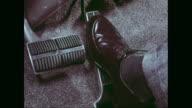 CU Man foot pressing accelerator pedal / United States