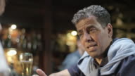 Man having a talk in the pub