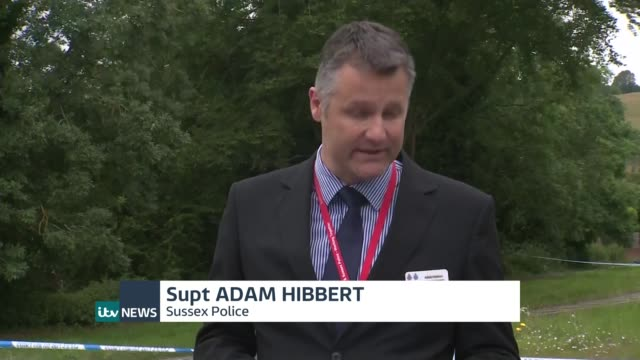 Man held after pensioner Don Lock killed in 'road rage attack' ENGLAND West Sussex Findon Superintendent Adam Hibbert statement to press SOT We are...