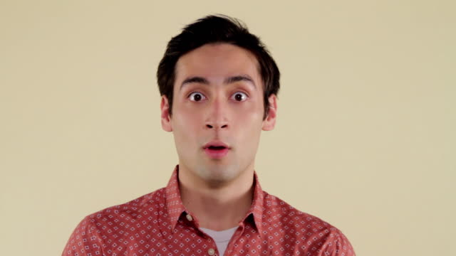 MCS man making facial expressions