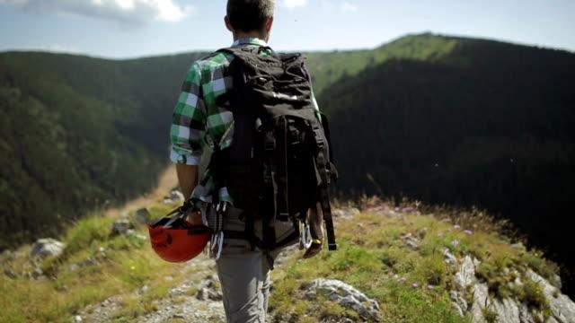 Man mountain Hiker