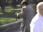 Man named Francisco Duran dressed in a trench coat opened fire on the White House in broad daylight in 1994 / Secret Service agents quickly take him...