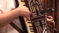Man playing the accordion - HD & PAL