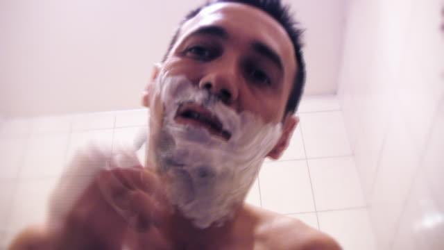 HD: Man shaving