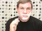 Uomo di rasatura