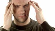 HD DOLLY: Man Suffering From A Headache