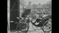 Fatty Arbuckle takes Miss cutie Cuticle (Alice Lake) for a ride in a horse carriage