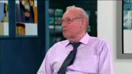 Man travels from Canada to find his lost love from 65 years ago ENGLAND London GIR INT Andy Jamieson LIVE studio interview SOT