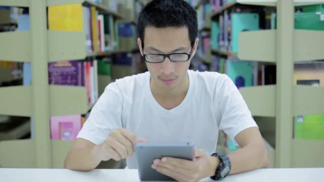 Man use tablet
