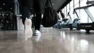 Man walking to Gym
