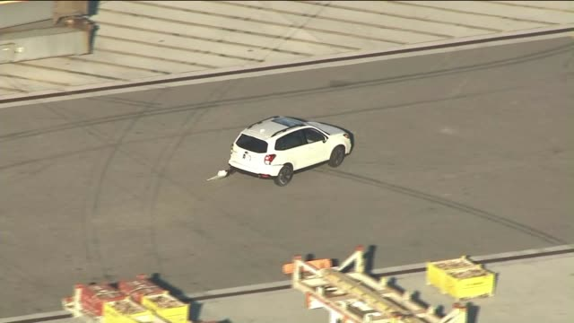 KTLA Man Who Climbed Crane at Port of LA Following Pursuit Falls to His Death A suspected car thief plummeted to his death hours after climbing onto...