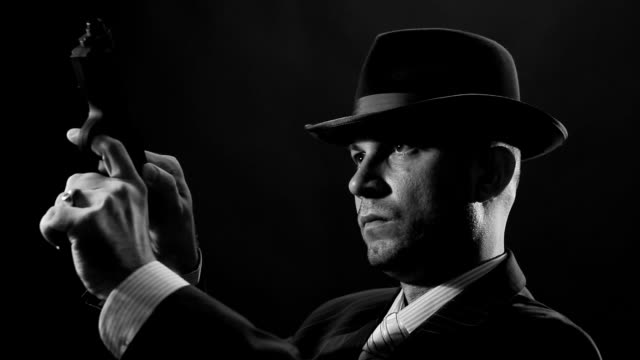 Man with bowler hat