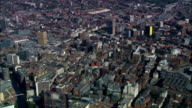 Manchester  - Aerial View - England, Manchester, United Kingdom