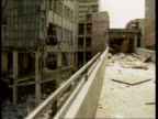 Marks and Spencer rebuilding LIB ENGLAND Manchester Damaged buildings caused by IRA bomb NAO